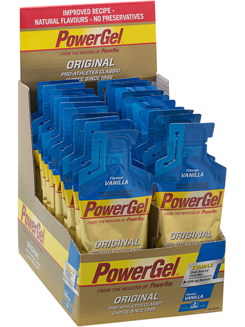 PowerBar PowerGel Original Box Vanilla 24 x 41g